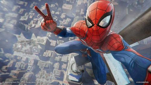 spiderman ps4 fisico sellado original marvel's spider-man !!