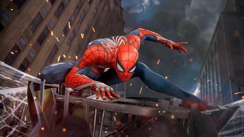 spiderman ps4 juego nuevo fisico sellado español latino full