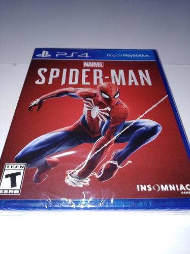 spiderman ps4 nuevo y sellado delivery gratis
