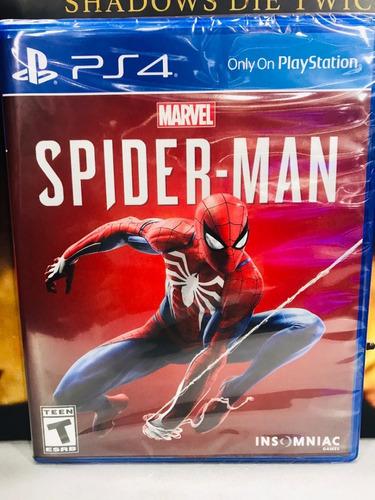 spiderman ps4 (sellado)
