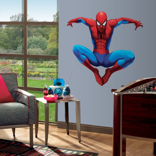 spiderman stickers adhesivos gigantes
