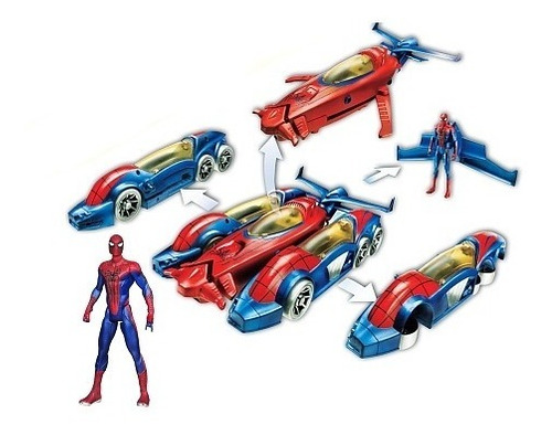 spiderman super pack de lujo 5 en 1