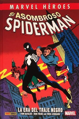 spiderman tentáculos dr. octopus + era traje negro - panini