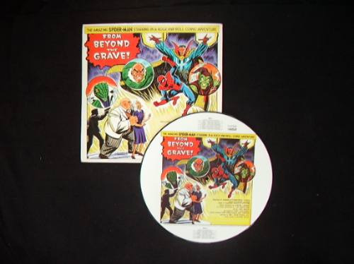 spiderman the amazing a rockomic  picture disc