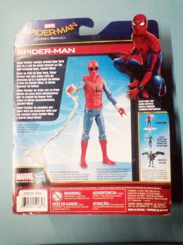 spiderman traje casero