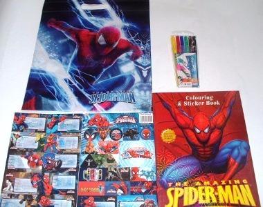 Spiderman útiles Escolares Libro Para Colorear Juguete Niño