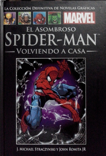 spiderman volviendo a casa