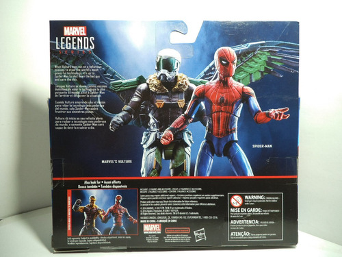 spiderman y buitre homecoming tipo universe 3.75 legends