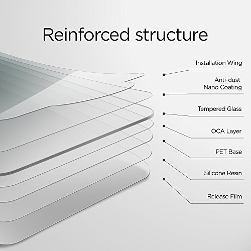 spigen iphone 7 plus protector de pantalla de vidrio templad