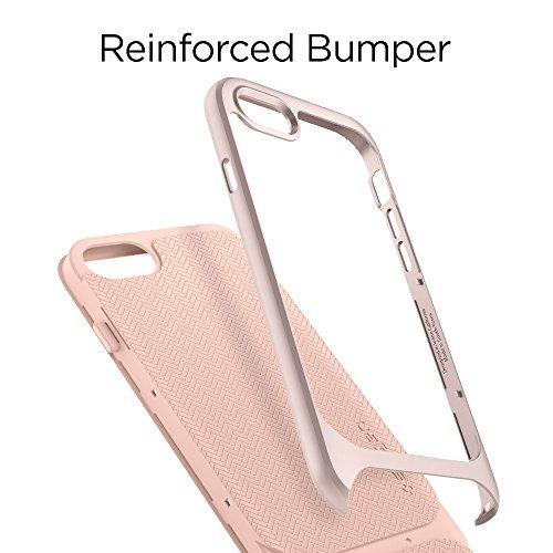 spigen neo híbrido herringbone iphone 8 plus funda / funda i