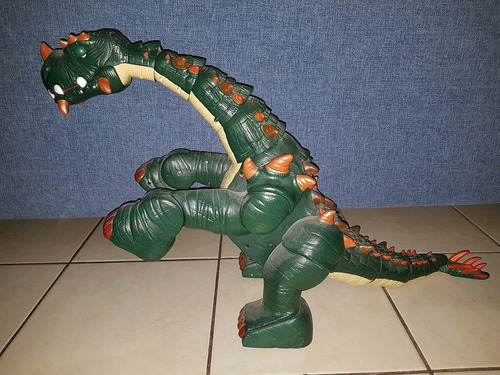 spike el ultra dinosaurio fisher price imaginext usado