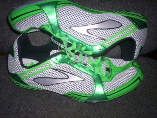 spikes atletismo distancia brooks ld, 5.5 mex