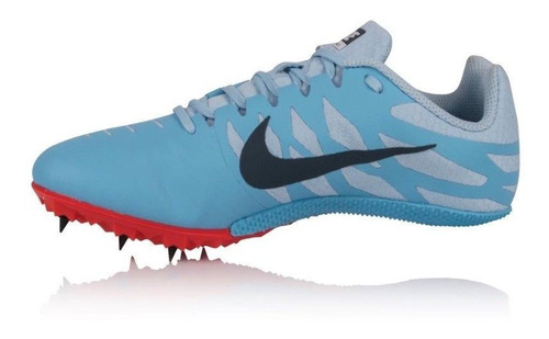 spikes atletismo velocidad hombre nike zoom rival s9 running track celestes nuevos originales envio full by prime goods