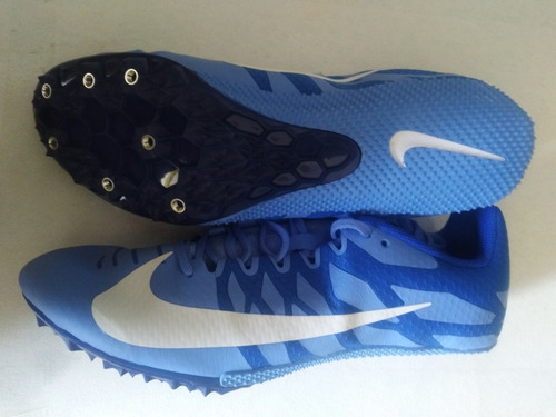 spikes atletismo velocidad rival s, talla 9 mex