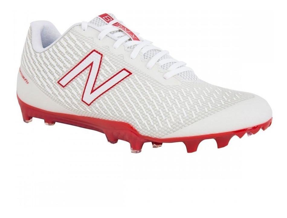 new balance blanco rojo