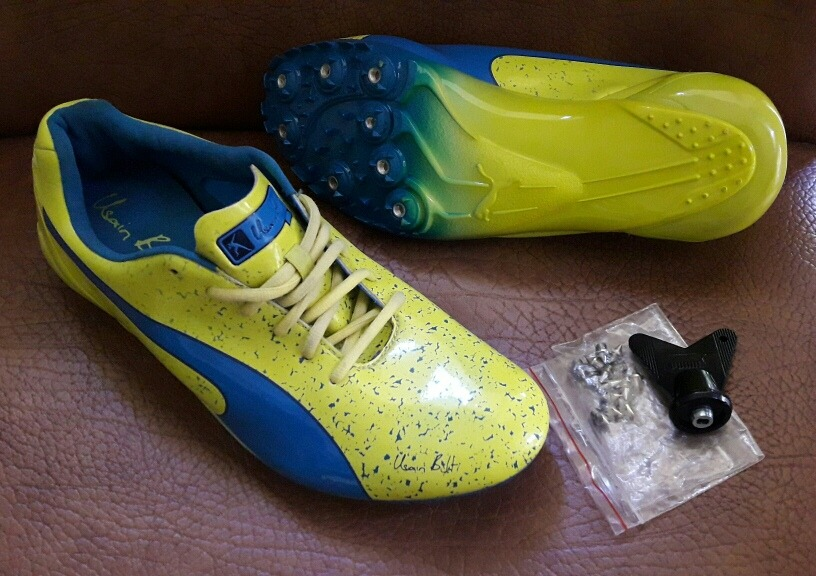 3525b4a1e3d325 Spikes Clavos Puma Para Velocidad Usain Bolt Us 9