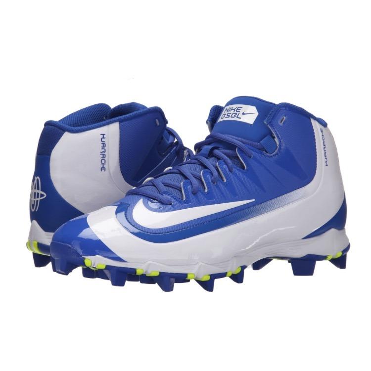 968259675de94 Spikes De Beisbol Nike Huarache Azul Blanco   28 Mx -   1