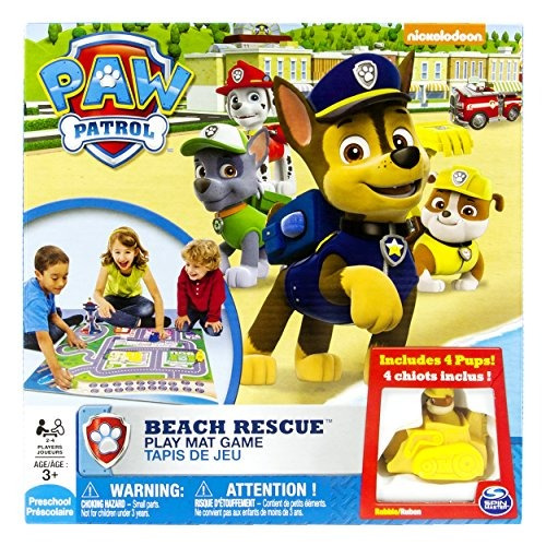 spin master games paw patrol beach rescue juego