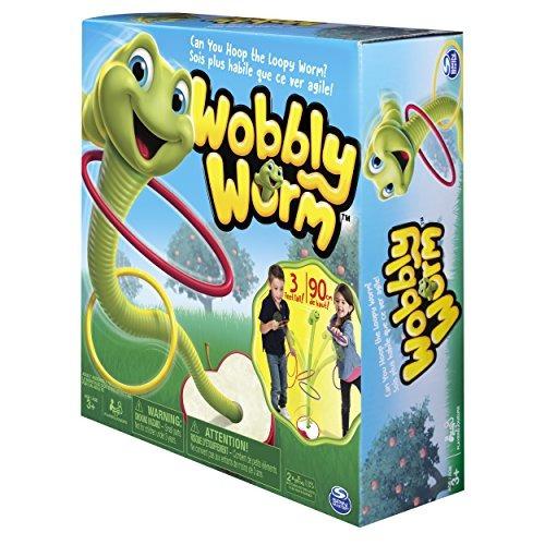 Spin Master Juegos Wobbly Gusano Anillo Toss Juego Para Ninos De 3