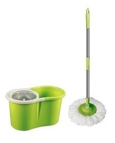 spin mop 360º cesto inox s/ pedal centrifugador rodo magico
