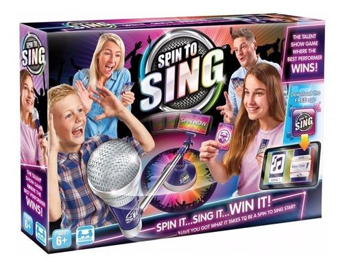 spin to sing girá cantá y ganá!!! convertite en el mejor