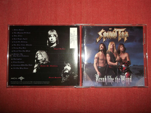 spinal tap - break like the wind cd usa ed 1992 mdisk