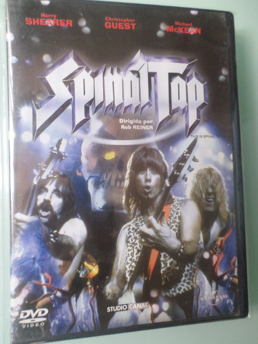 spinal tap  -documental de heavy metal- dvd 100% original