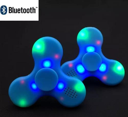 spiner spinner con bluetooth luces luz juguete parlante nuev