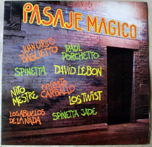spinetta los abuelos de la nada pasaje magico vinilo lp 1984