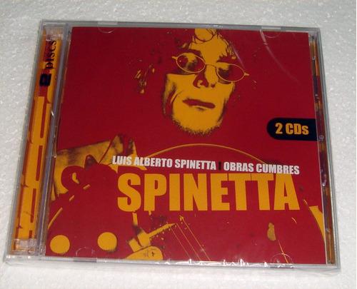 spinetta obras cumbres cd doble sellado  / kktus