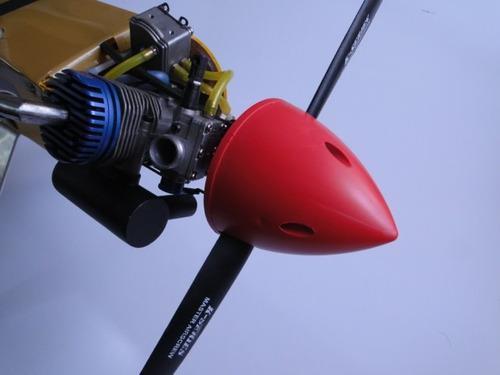 spinner 3 polegadas  ( 75 mm ) para motores glow e gasolina