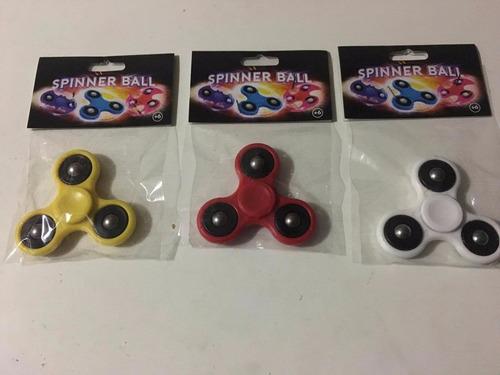 spinner ball colores combo 100 unidades mayorista revendedor