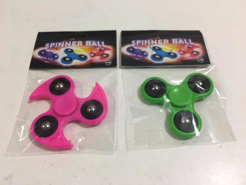 spinner ball colores combo 100 unidades mayorista revendedor