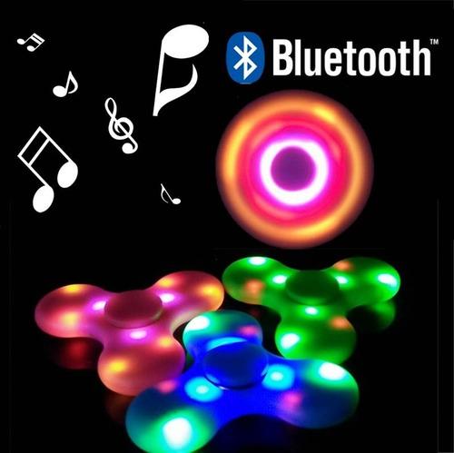 spinner bluetooth con parlante luz carga por usb  belgrano