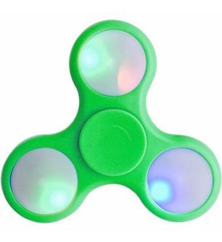 spinner fidget con luz led mayor velocidad verde el mejor