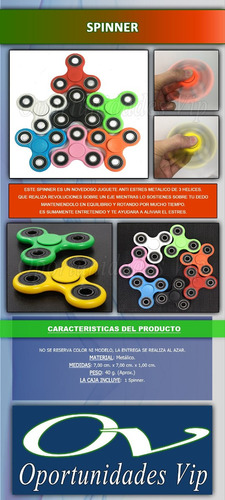 spinner fidget hand rulemanes juguete anti estres ansiedad