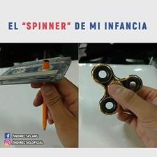 spinner fidget importado metal titanium profesional 8 min