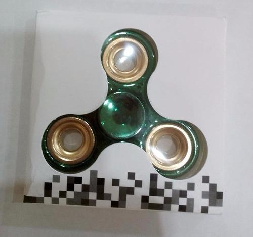 spinner fidget metalizados (disponibilidad inmediata)