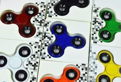 spinner fitget colores orificio cromados (entrega inmediata)