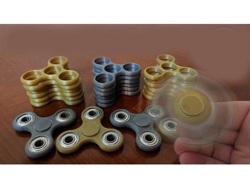 spinner - juguete antiestres ansiedad c/4 rulemanes