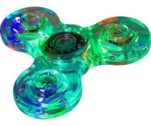spinner led acrilico