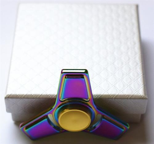 spinner metal larga duracion - en caja - excelente