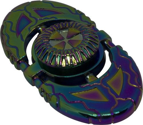 spinner ovalo delgado tornasol juguete
