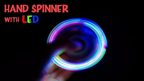 spinners fidget luces led! anti-stress anti-ansiedad nuevo