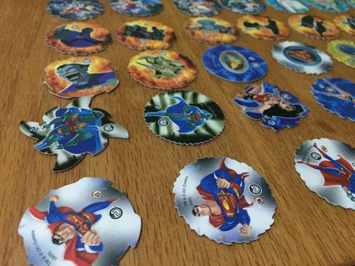 spinners sabritas dc batman superman flash mujer maravilla