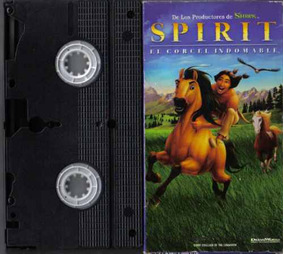 Spirit El Corcel Indomable Castellano Vhs