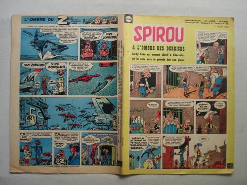 spirou n° 1165  año 1960 -  antigua revista france