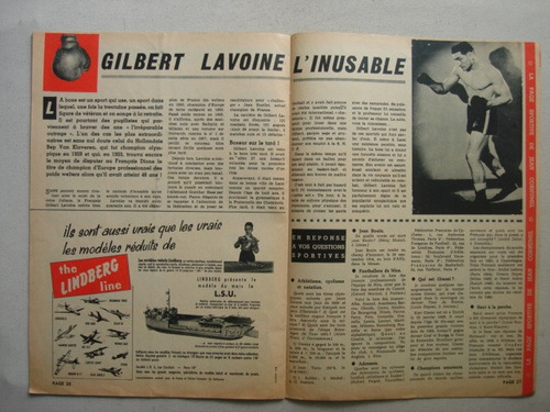spirou n° 1168  año 1960 -  antigua revista france