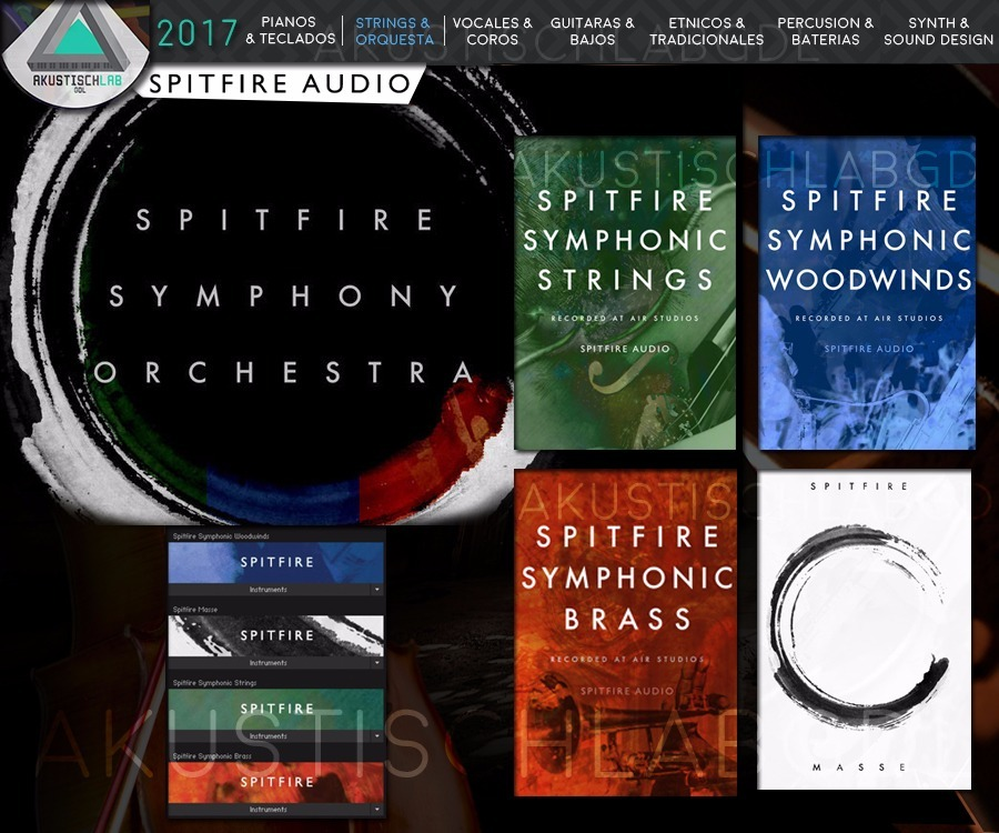 Spitfire Audio Symphony Orchestra +masse Kontakt Samples Vst