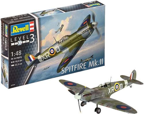 spitfire mk.ii escala 1/48 revell 03959